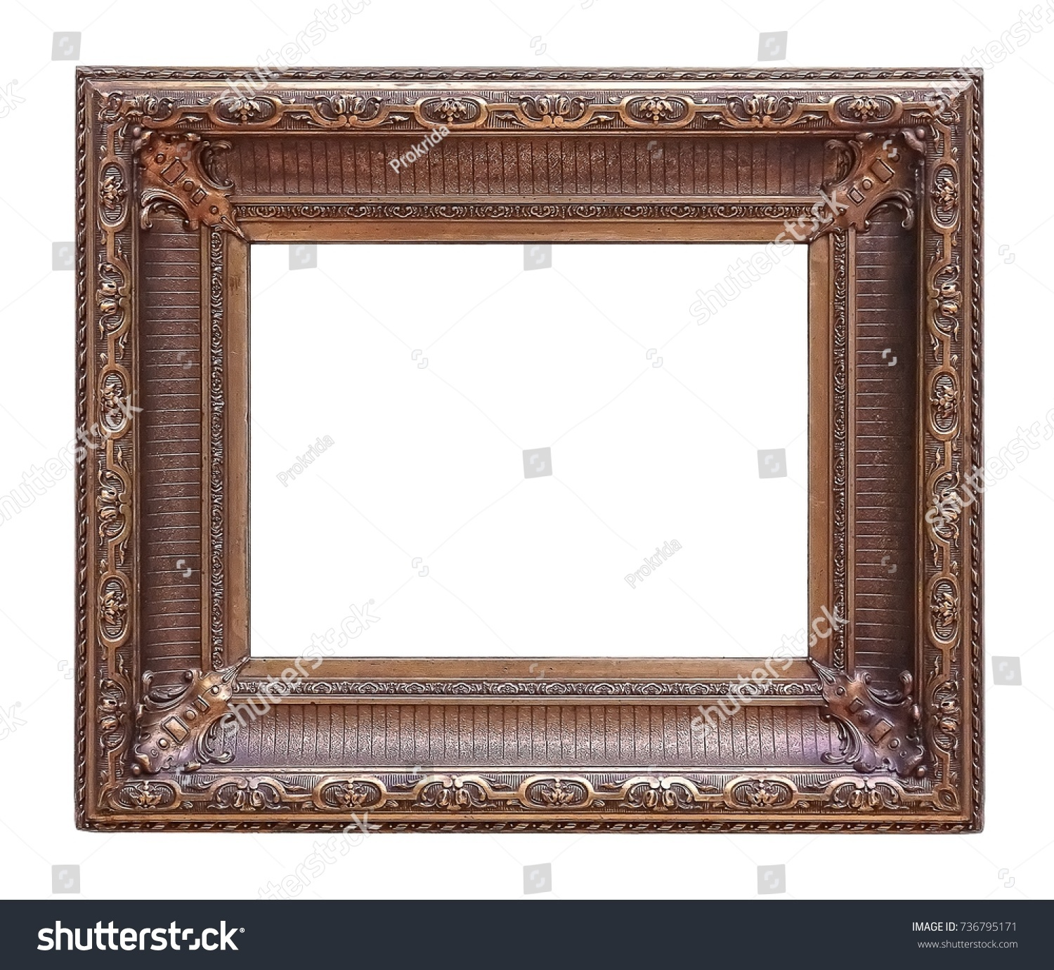 Wooden frame for paintings, mirrors or photos | EZ Canvas