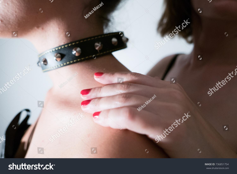 Sexy Woman Play Bdsm Soft Bondage Games