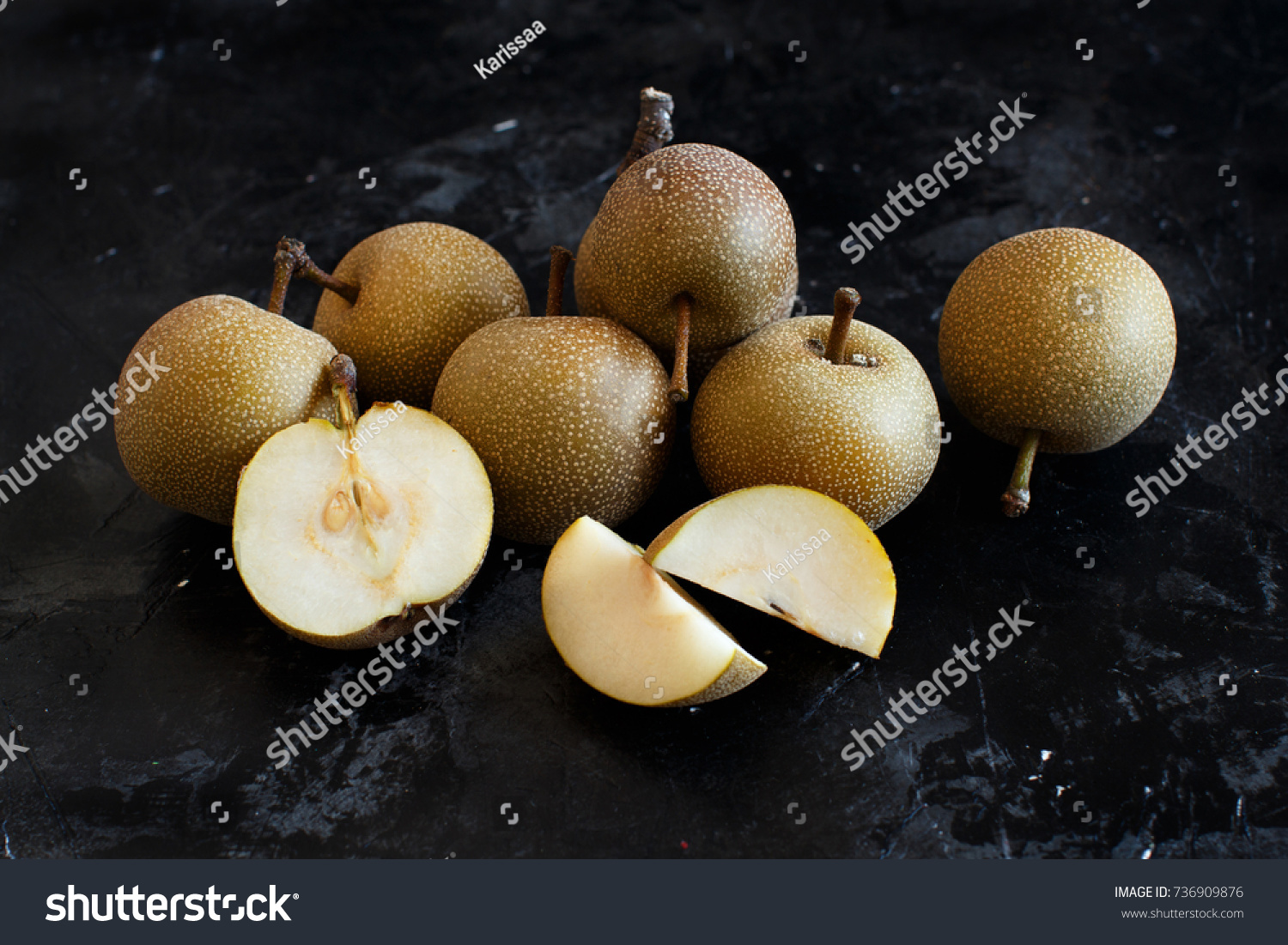 asian apple seed