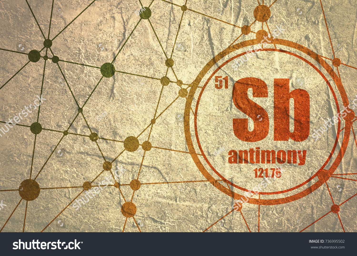 Antimony chemical element sign atomic number stock illustration sign with atomic number and atomic weight chemical element of periodic gamestrikefo Choice Image