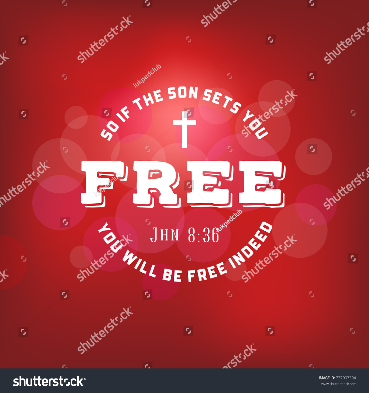 Bible Verses New Testament Son Sets Stock Vector (Royalty Free ...