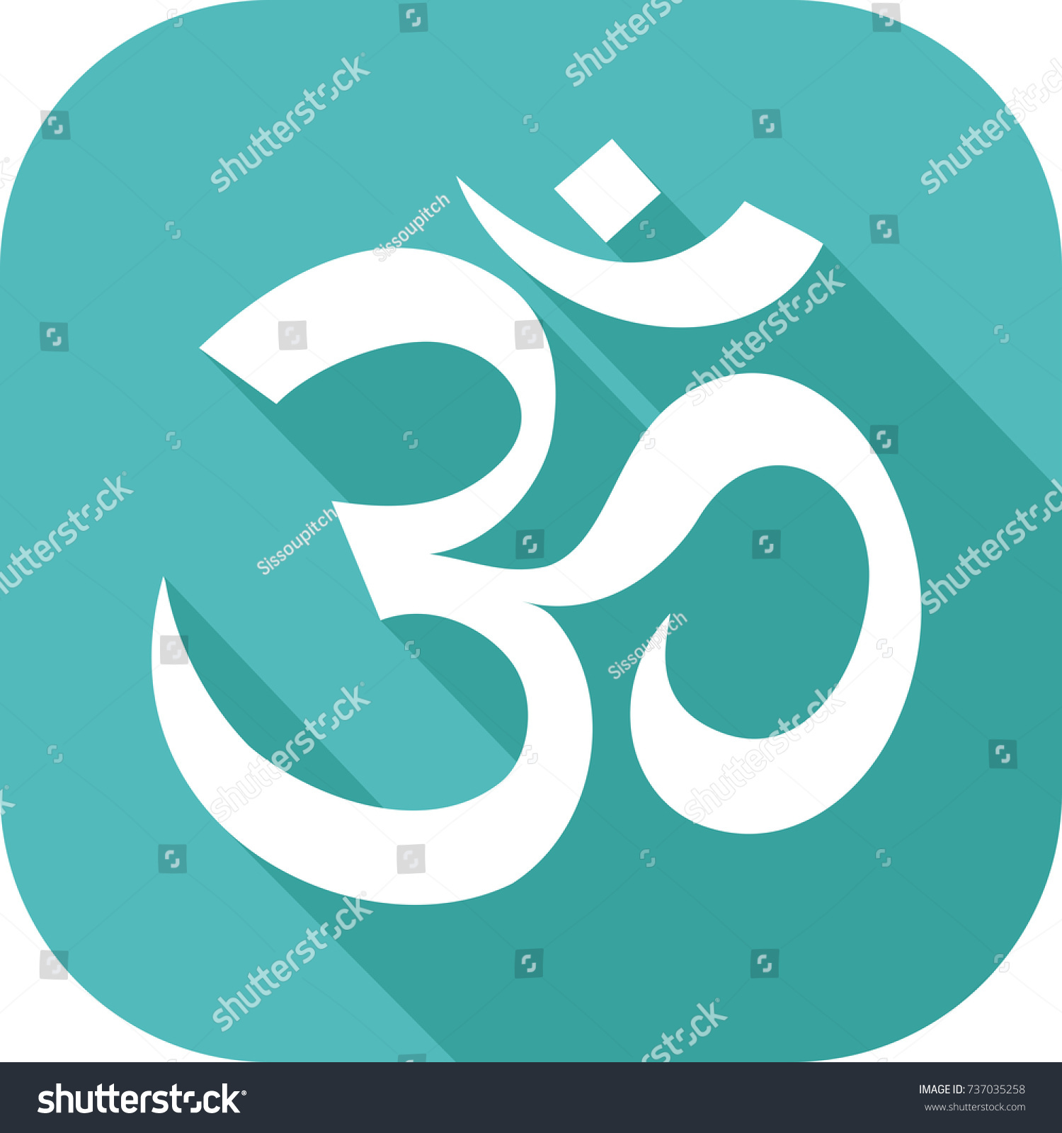 Icon symbol religion hinduism stock vector 737035258 shutterstock icon of the symbol of religion hinduism buycottarizona
