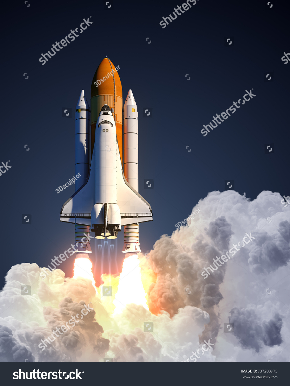 new space shuttle illustration - photo #14