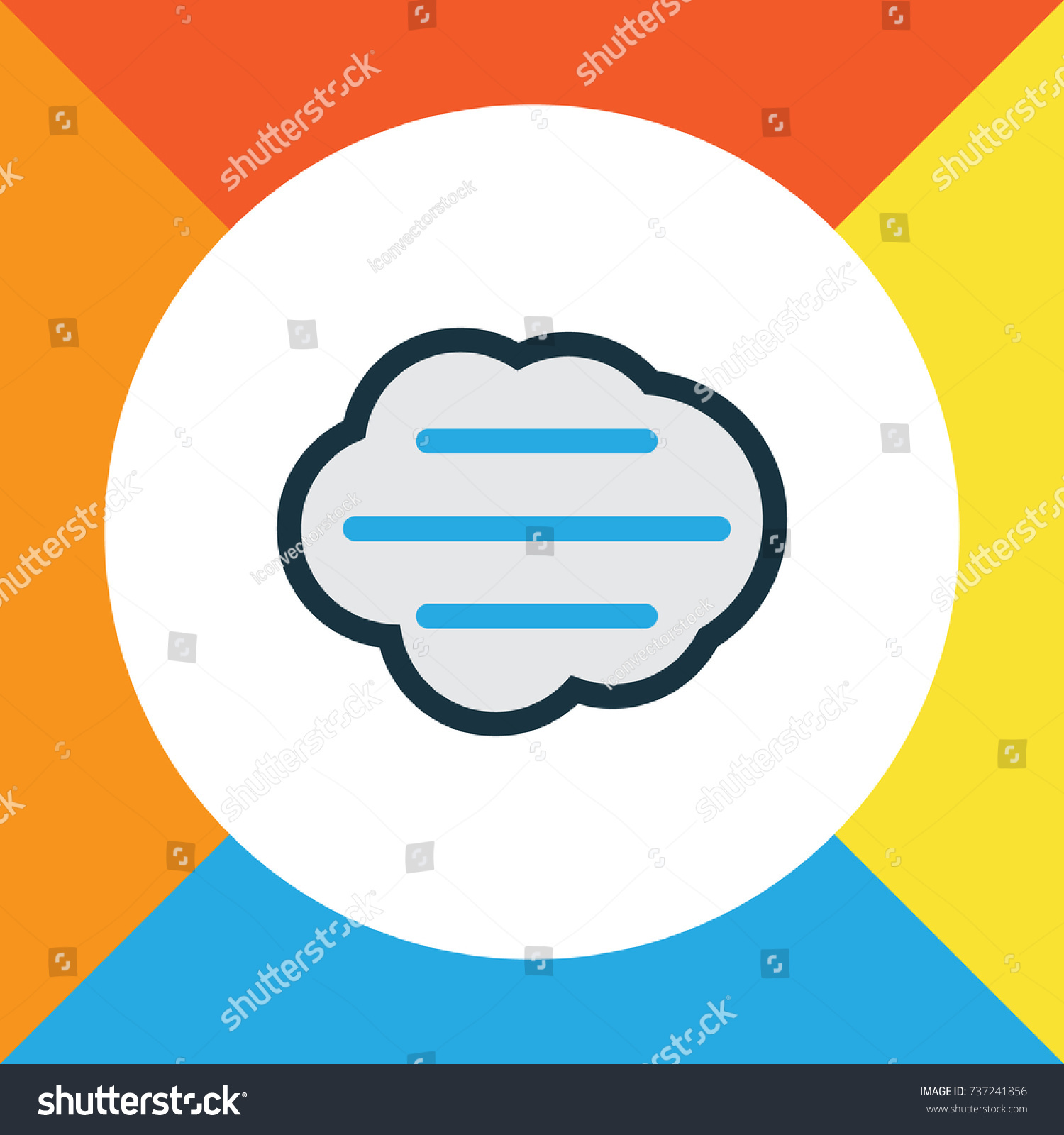 Windy colorful outline symbol premium quality stock vector windy colorful outline symbol premium quality isolated tempest element in trendy style biocorpaavc