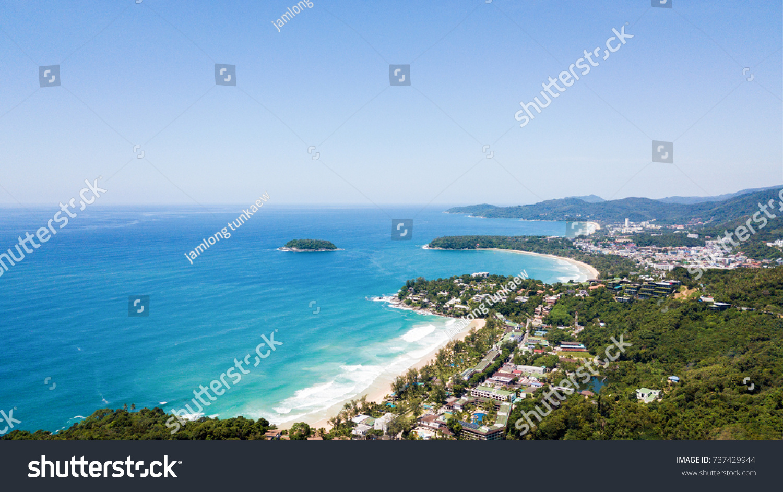 View Photos Taken By DronesKata Noi Karon Beach And Phuket