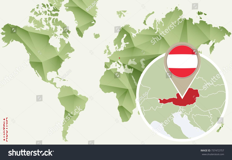 Infographic austria detailed map austria flag vectores en stock infographic for austria detailed map of austria with flag vector info graphic green map gumiabroncs Gallery