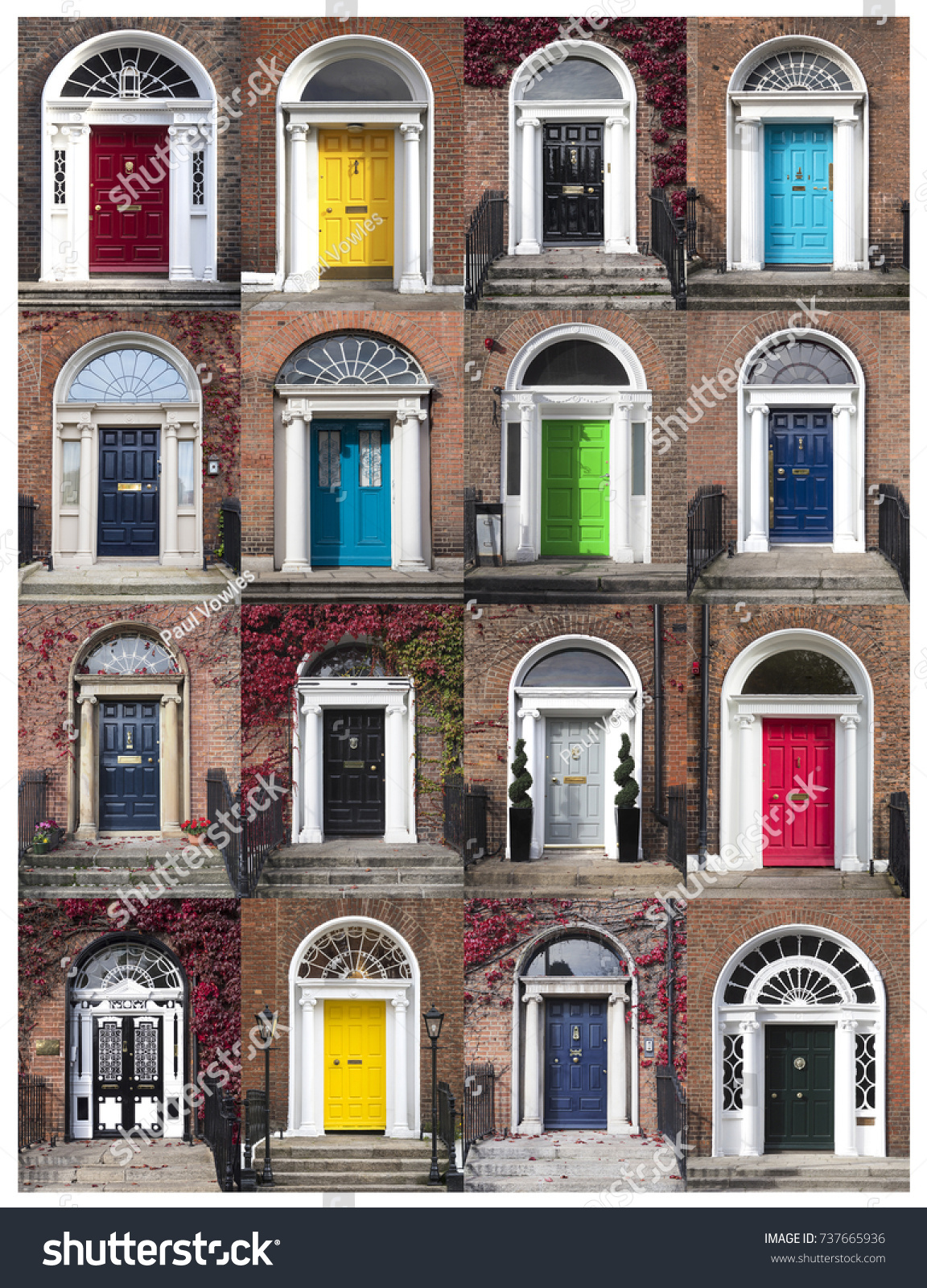 GEORGIAN DOORS - DUBLIN IRELAND & Georgian Doors Dublin Ireland Stock Photo 737665936 - Shutterstock pezcame.com