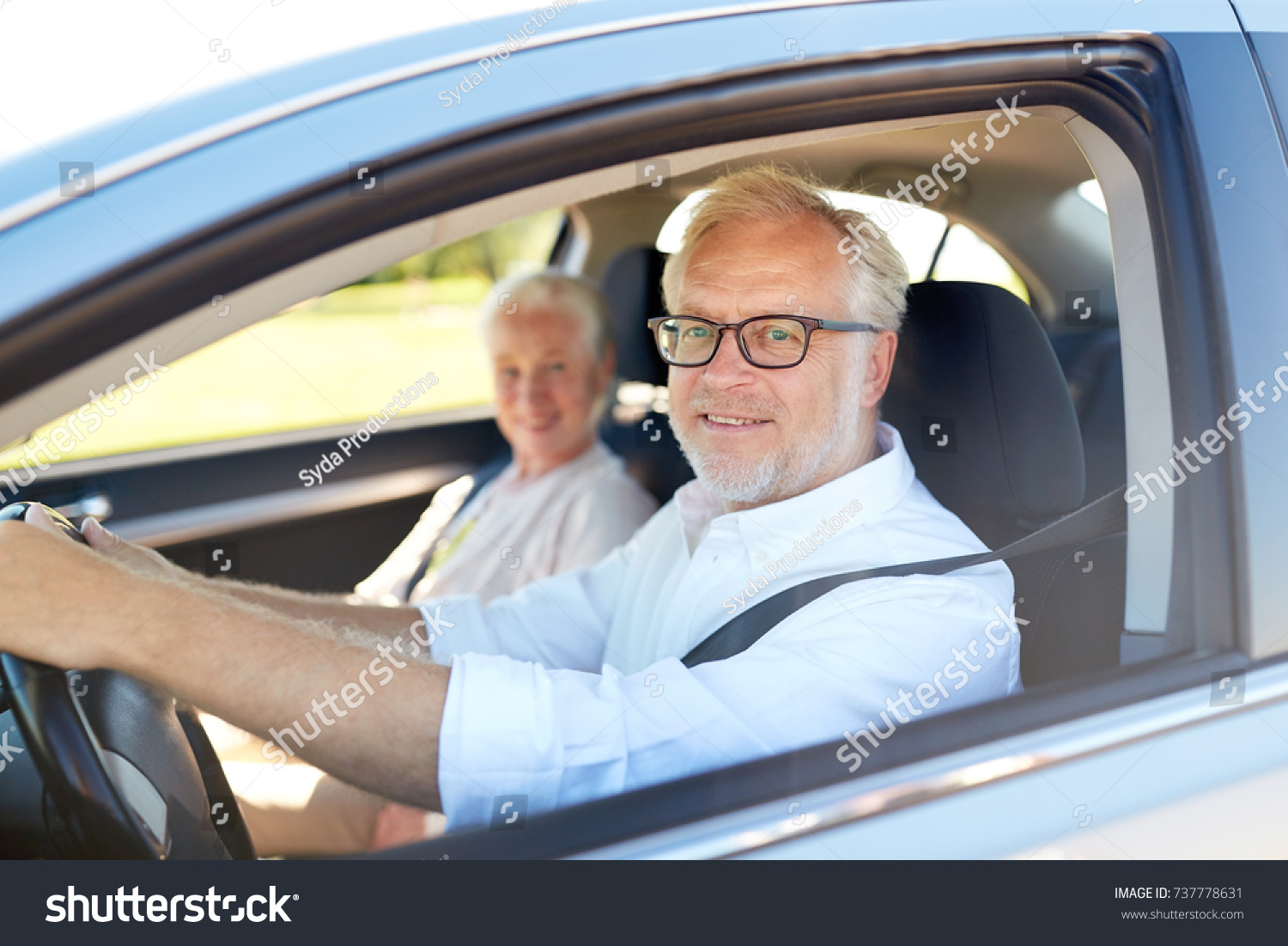 Road Trip Travel Old People Concept Stock Photo (Safe to Use ...