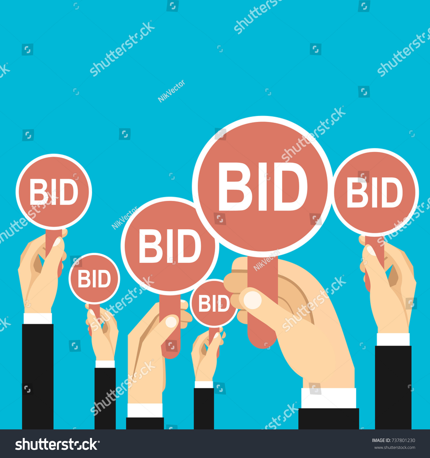 bid card template