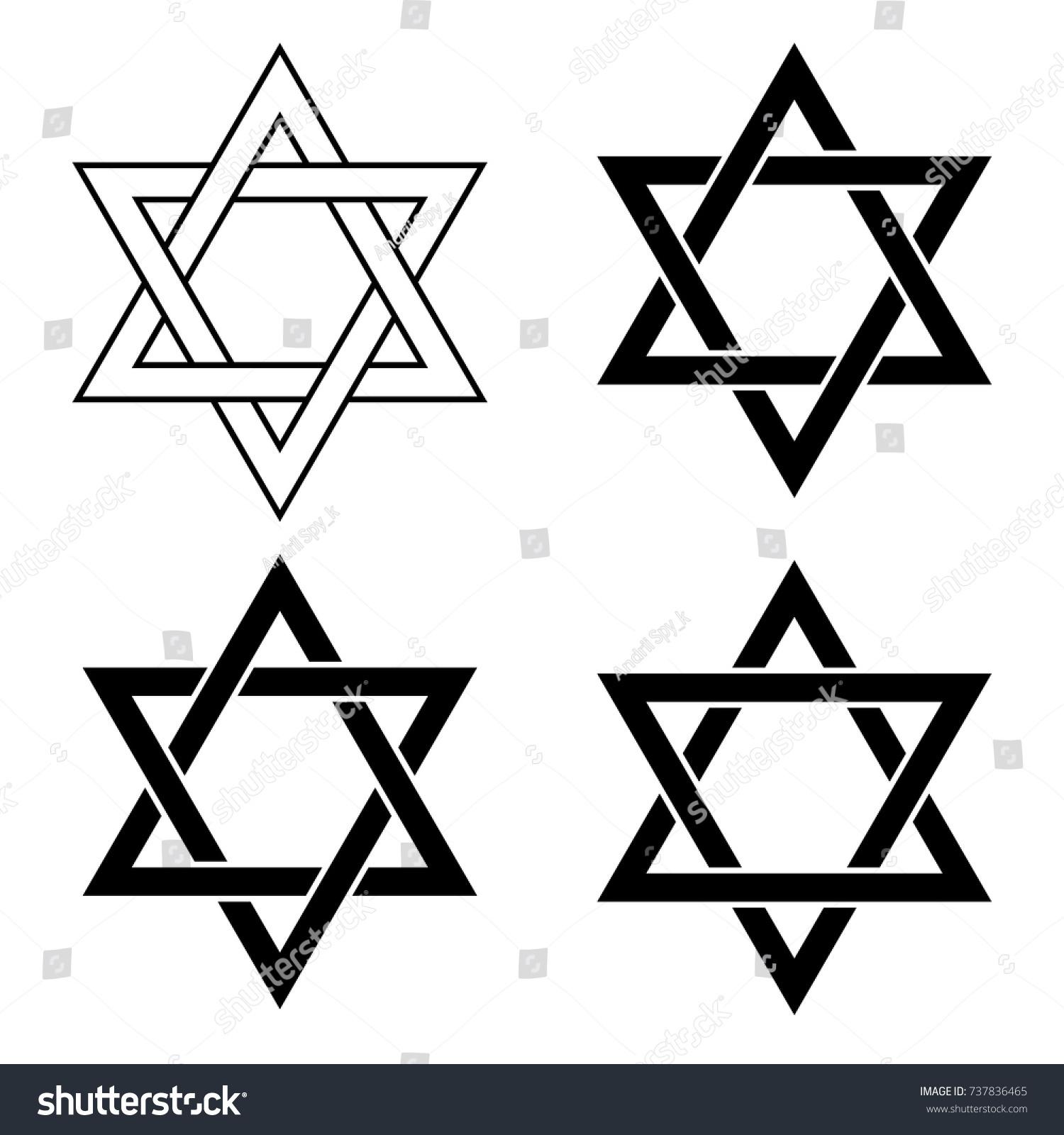 Ancient star symbols image collections symbol and sign ideas star david set icons vector illustration stock vector 737836465 star of david set icons vector illustration buycottarizona