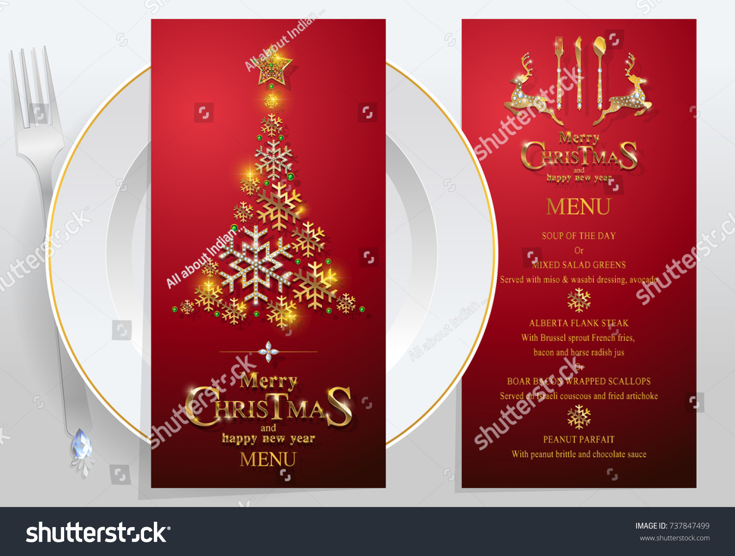 Christmas dinner vectors, photos and psd files | free download.