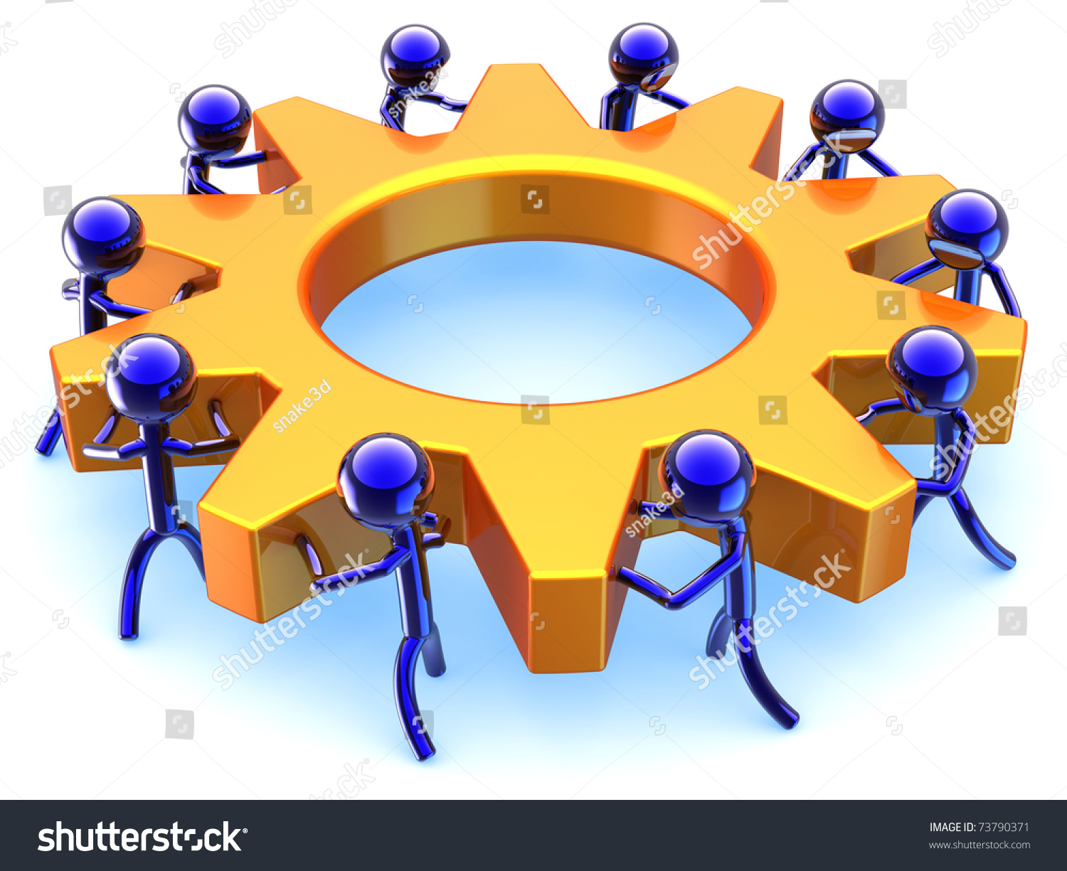Business teamwork efficiency dream team cooperation stock dream team cooperation abstract success of community concept stylized characters sciox Gallery