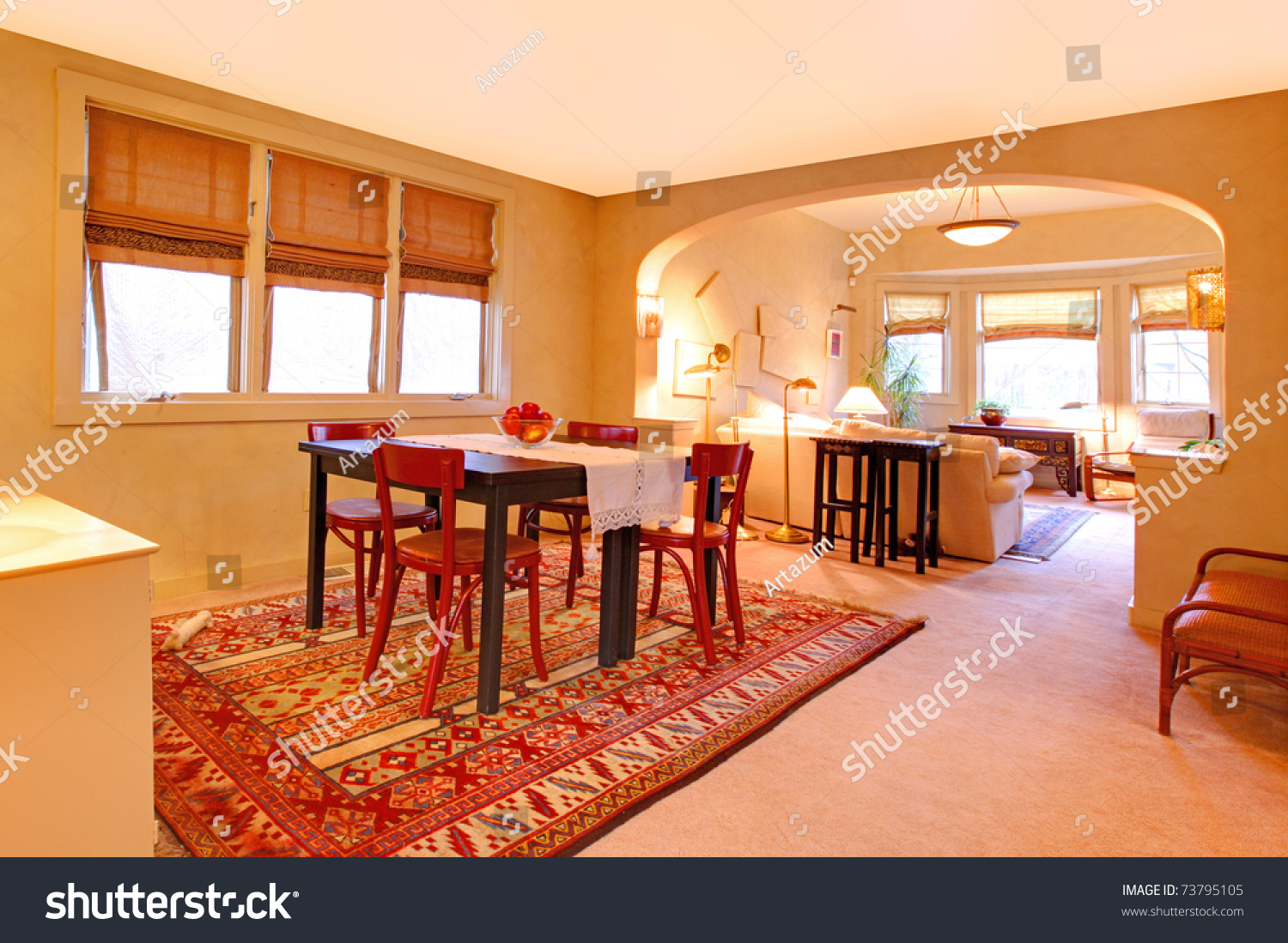 Craftsman style dining room - Old Craftsman Style Home Preview Save To A Lightbox