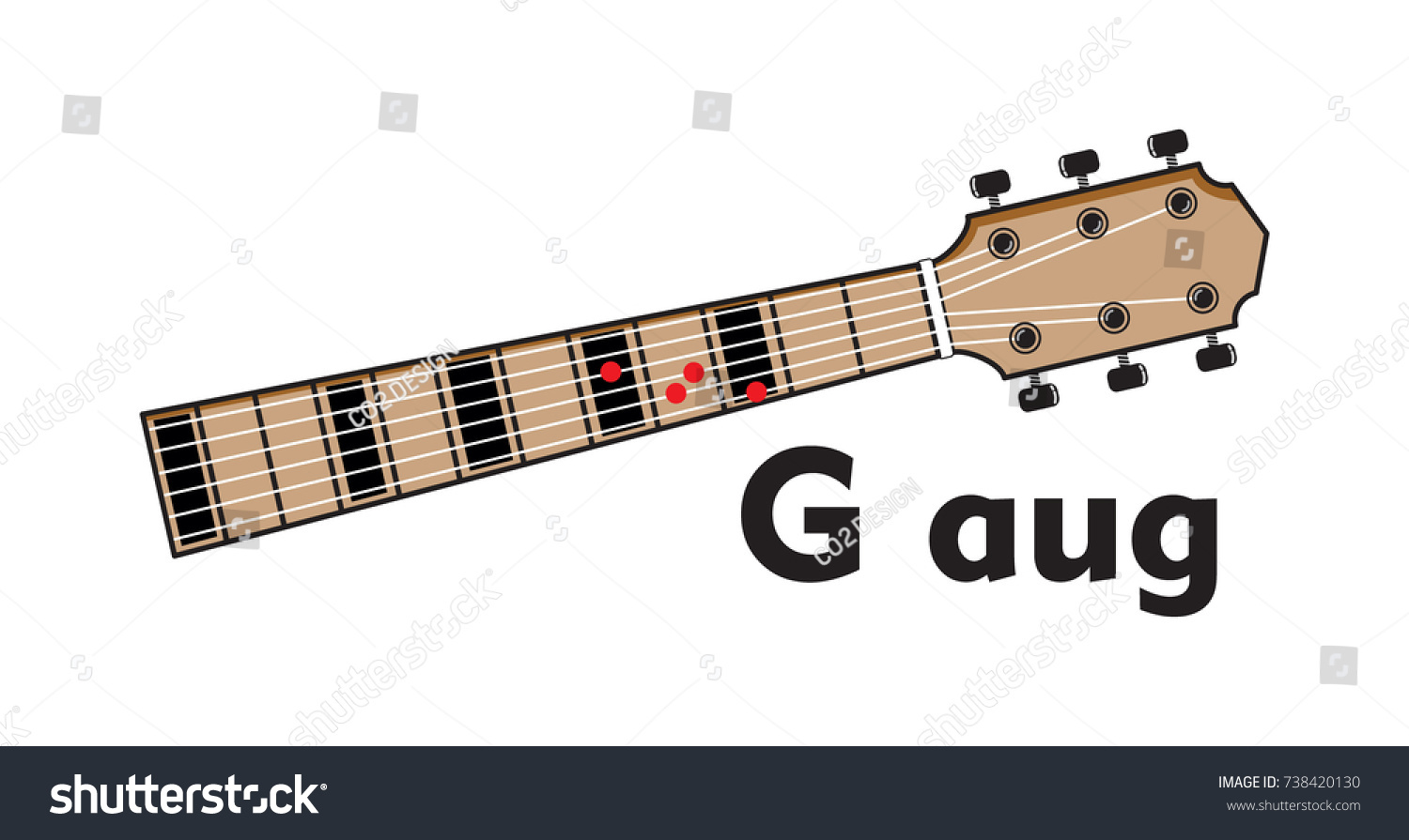 Vector Set Guitar Chord Diagram Stock Royalty Free Electric For Bass Tab Tabulation Finger Chart Basic