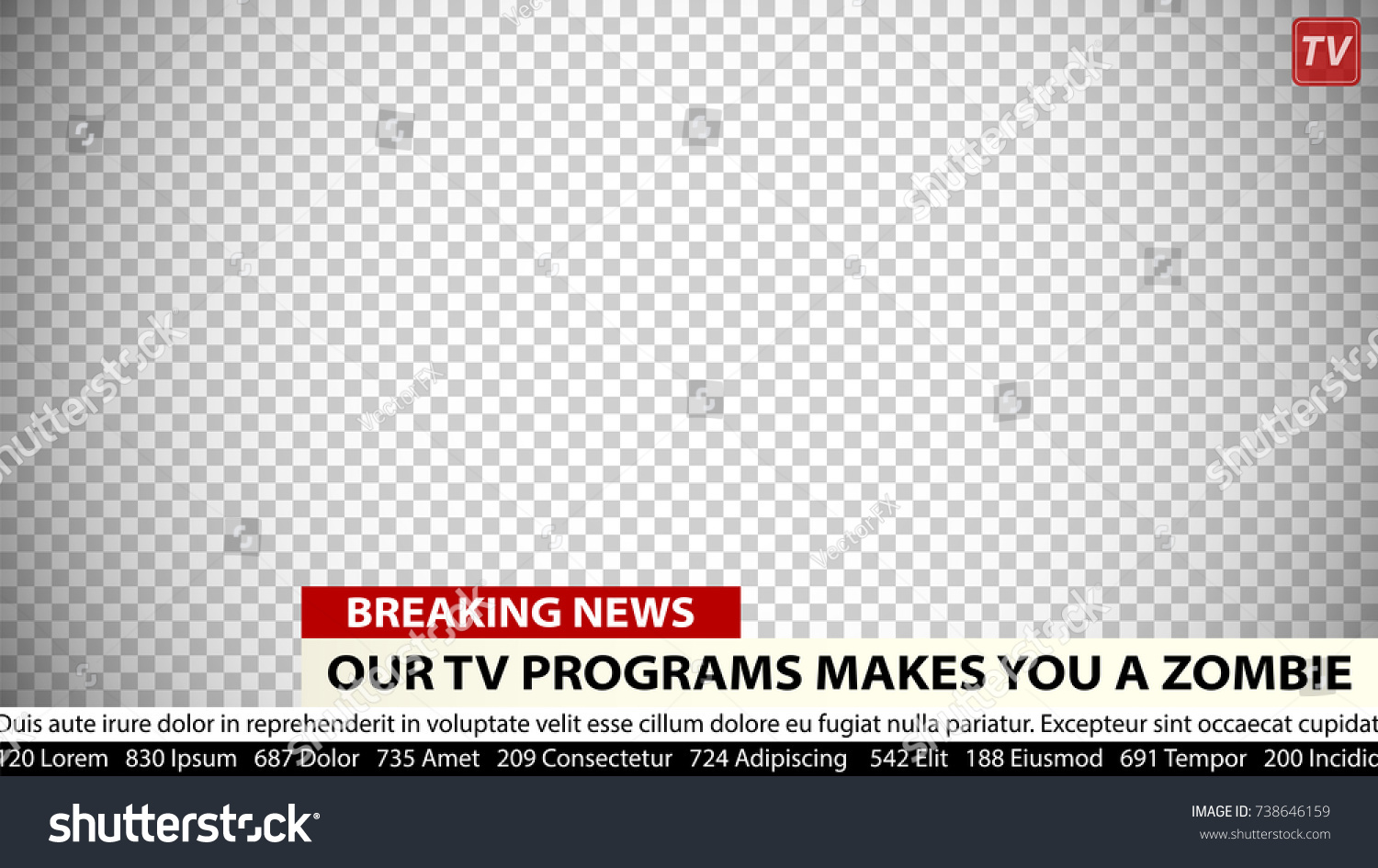 Empty Tv News Headline Template Wiring Diagrams Row Field Scanning Basiccircuit Circuit Diagram Seekiccom Breaking Vector Business Communication Stock Rh Shutterstock Com Newspaper Fill In