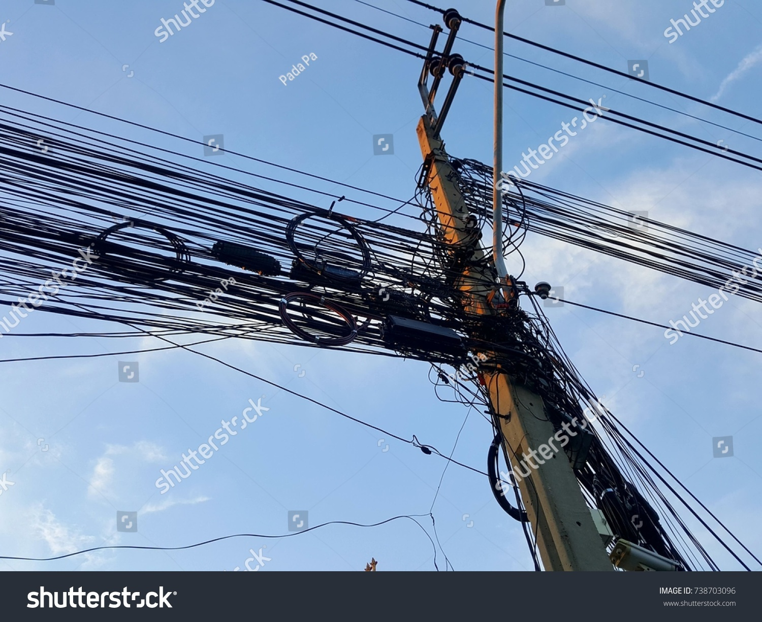 Fine High Voltage Cable Telephone Line Communicate Stock Photo Edit Now Wiring Digital Resources Sapredefiancerspsorg