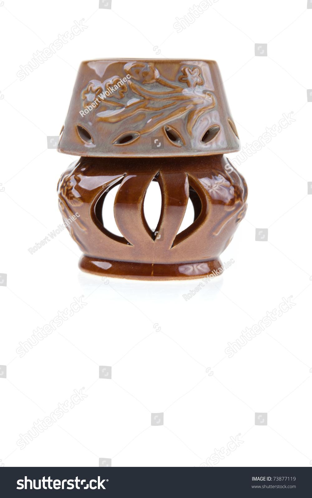Fireplace Fragrance, Fragrance Oil Lamp Stock Photo 73877119 ...