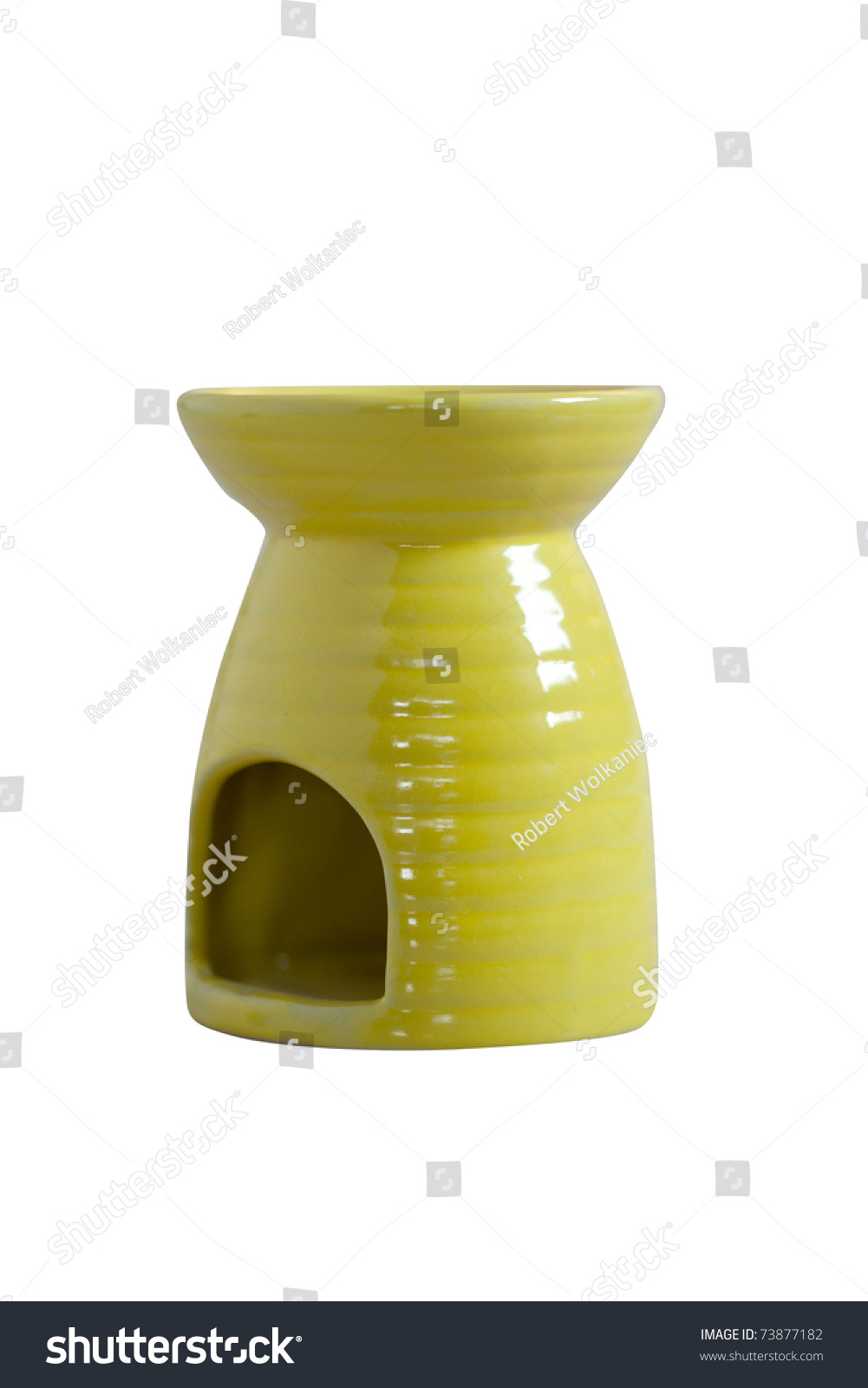 Fireplace Fragrance Fragrance Oil Lamp Stock Photo 73877182 ...