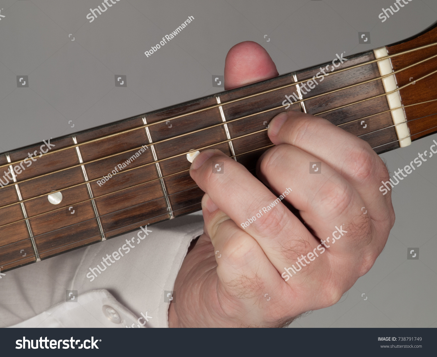 Diminished Guitar Chord Stock Photo Edit Now 738791749 Shutterstock