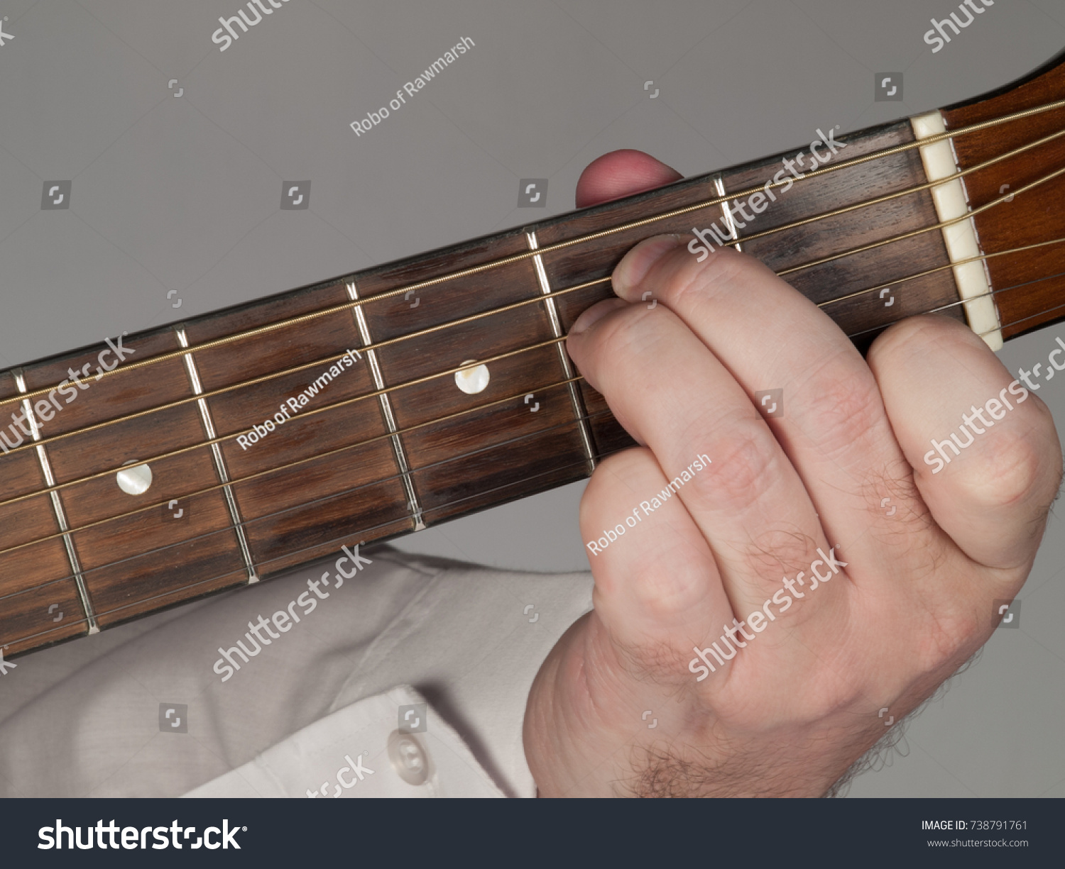 Primary Guitar Chord E Minor Stock Photo Edit Now 738791761
