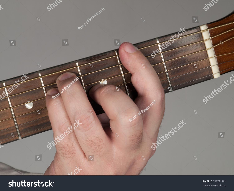 F Sharp Major Bar Chord Stock Photo Edit Now 738791791 Shutterstock