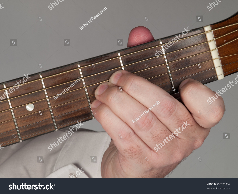 Primary Guitar Chord B Flat Major Stock Photo Edit Now 738791806