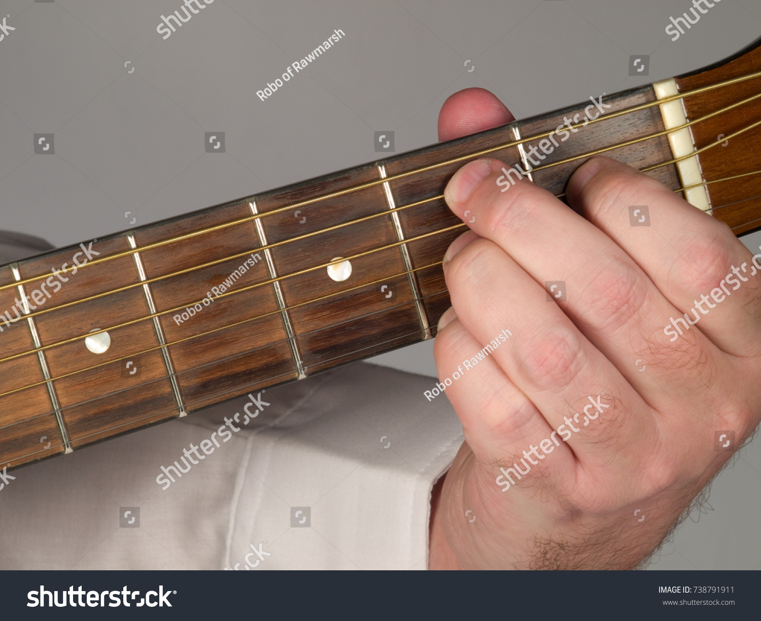 Primary Guitar Chord B 7 Major Stock Photo Edit Now 738791911