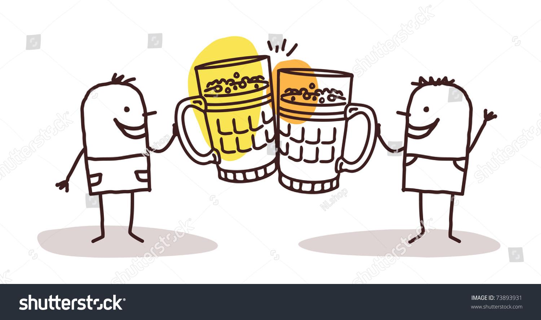 stock-vector-two-men-drinking-beer-73893931 - Show Posts - hubag bohol
