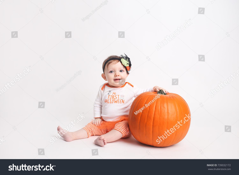 babys first halloween stock photo (edit now) 739032172 - shutterstock