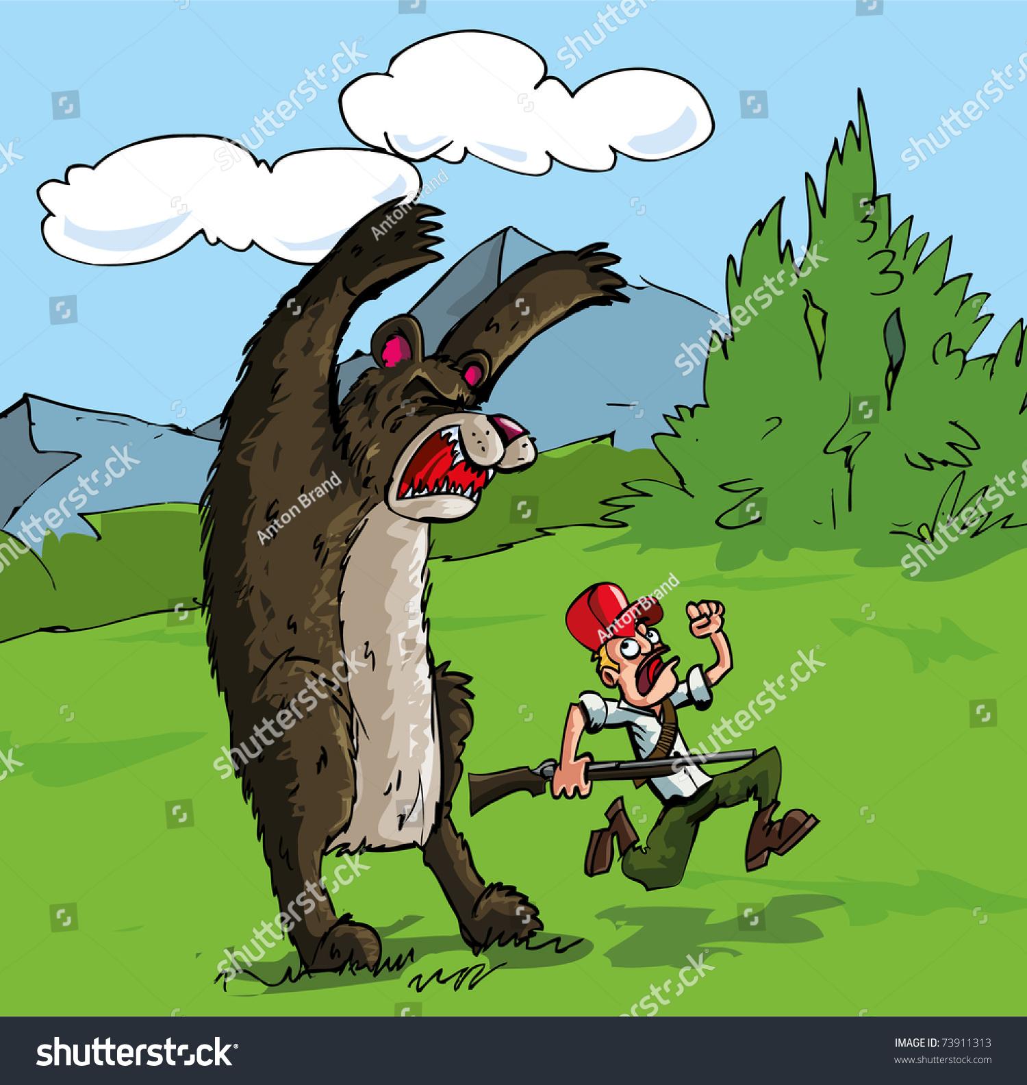 Image result for bear attacks hunter