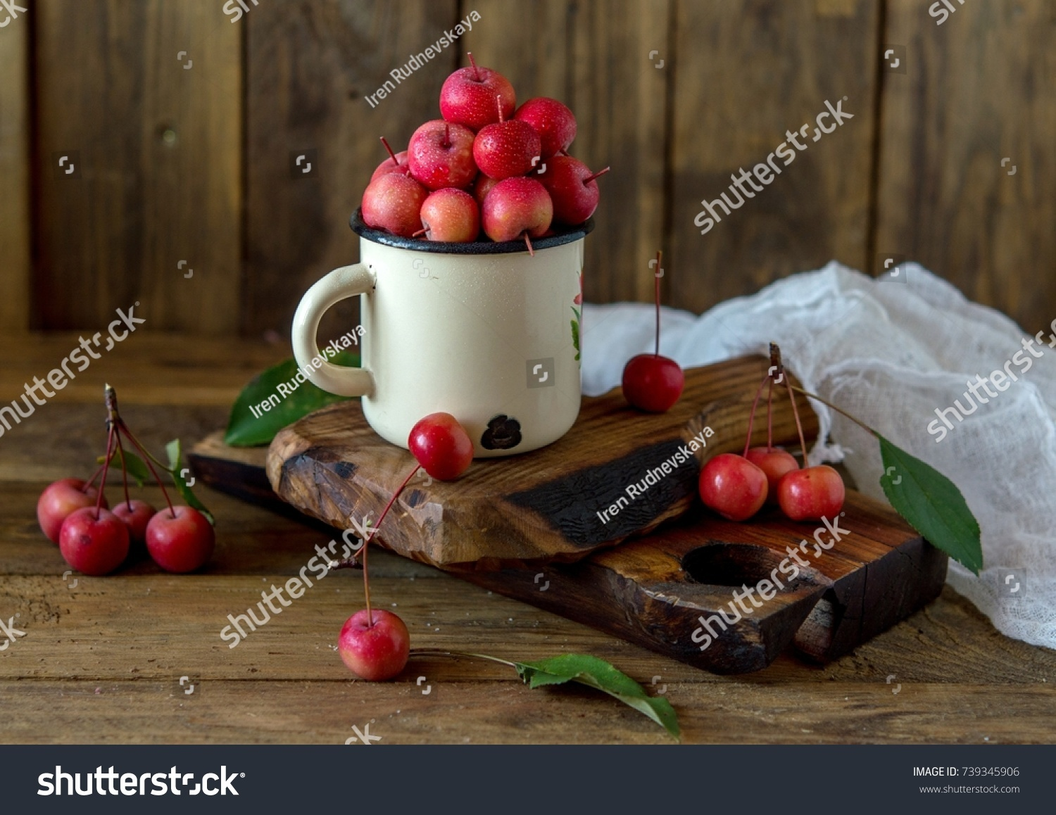 Paradise Apples Chinese Apples Chinese Grandmothers Stock Photo ...