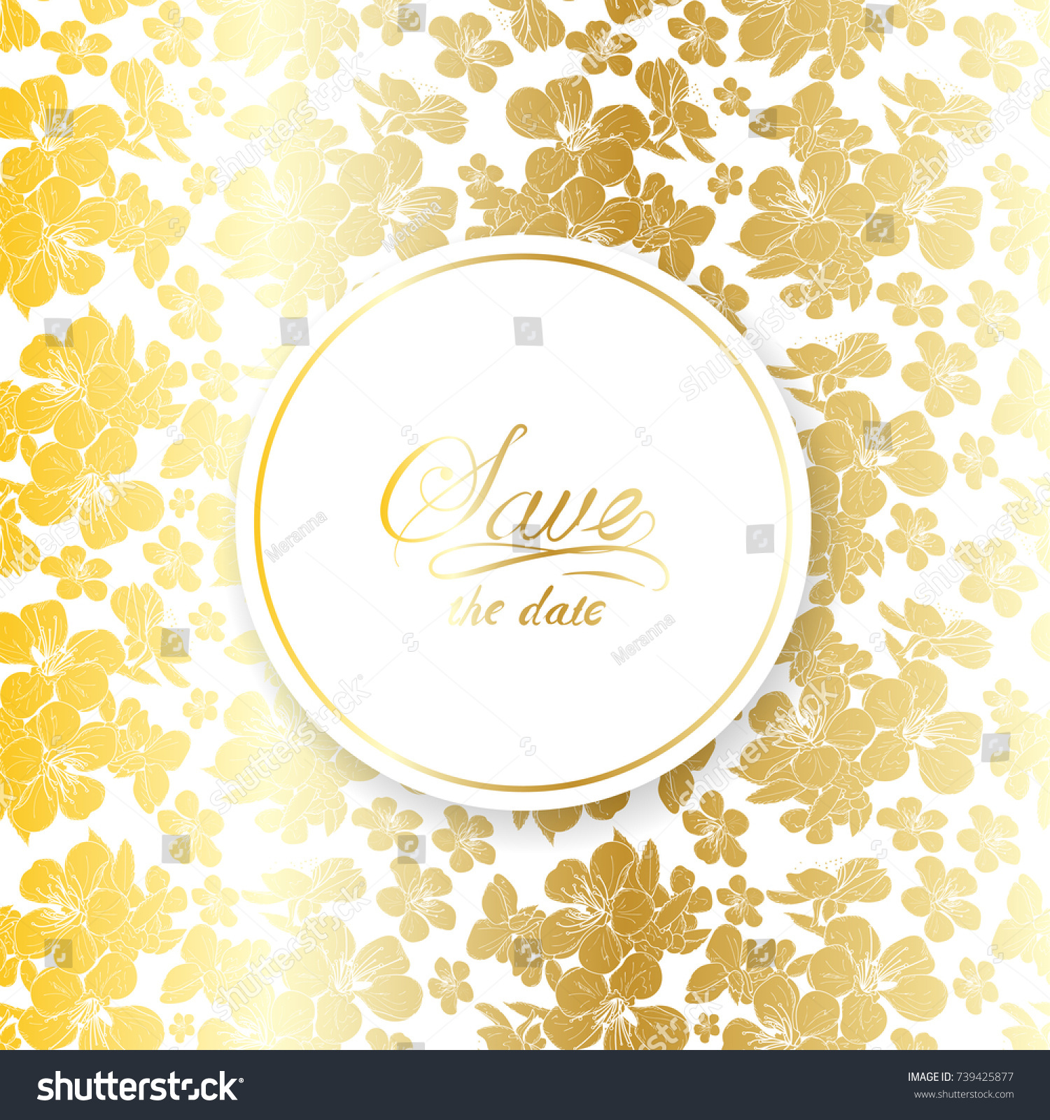 Wedding Invitation Save Date Card Baby Stock Vector Royalty Free