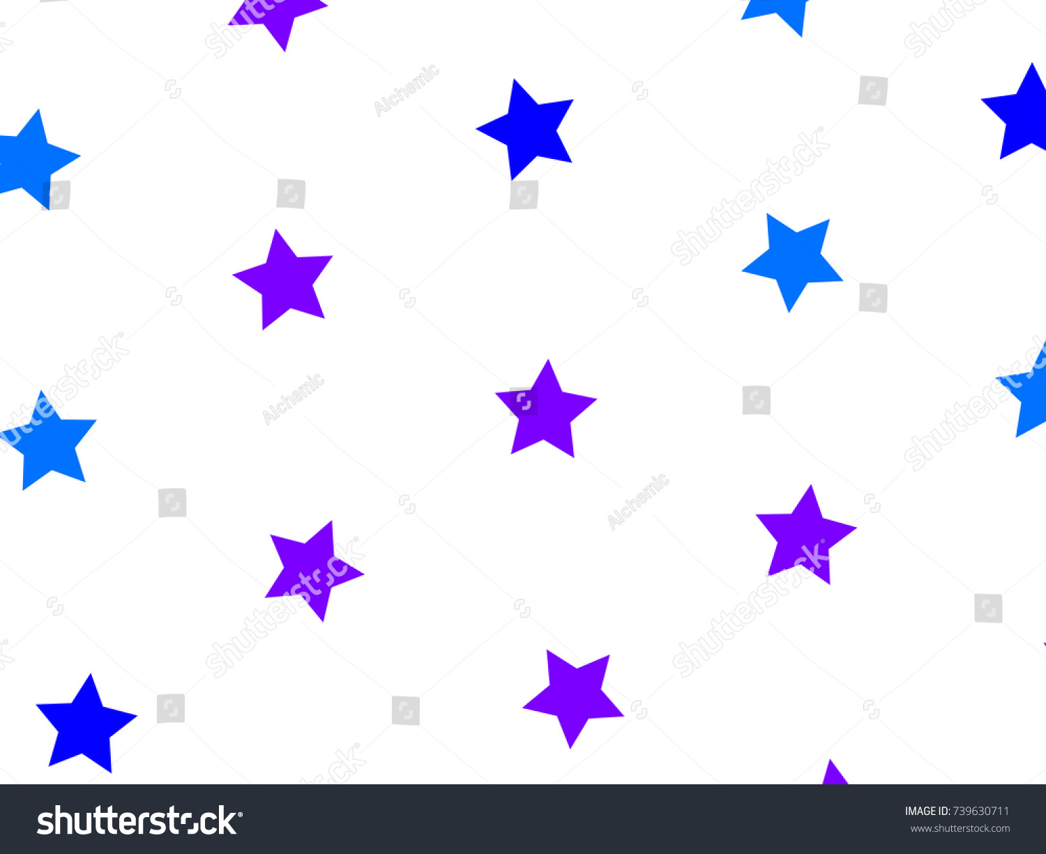 Star Template Based On Multiple Elements Stock Illustration