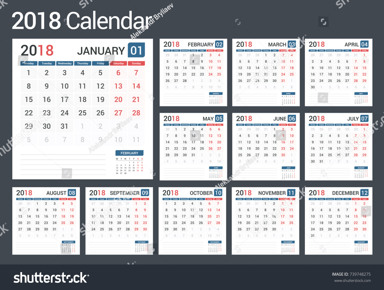 Calendar Pages Vector : Calendar pages vector eps stock