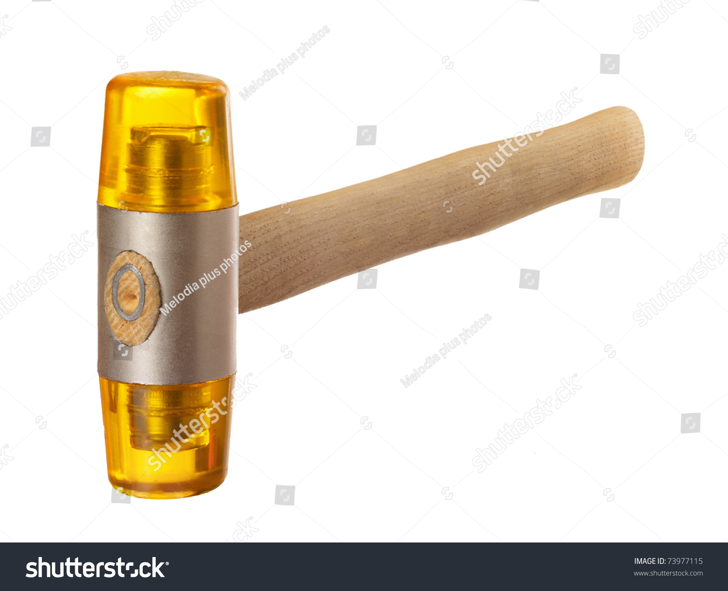 plastic hammer isolated on a white background stock photo 73977115 shutterstock. Black Bedroom Furniture Sets. Home Design Ideas
