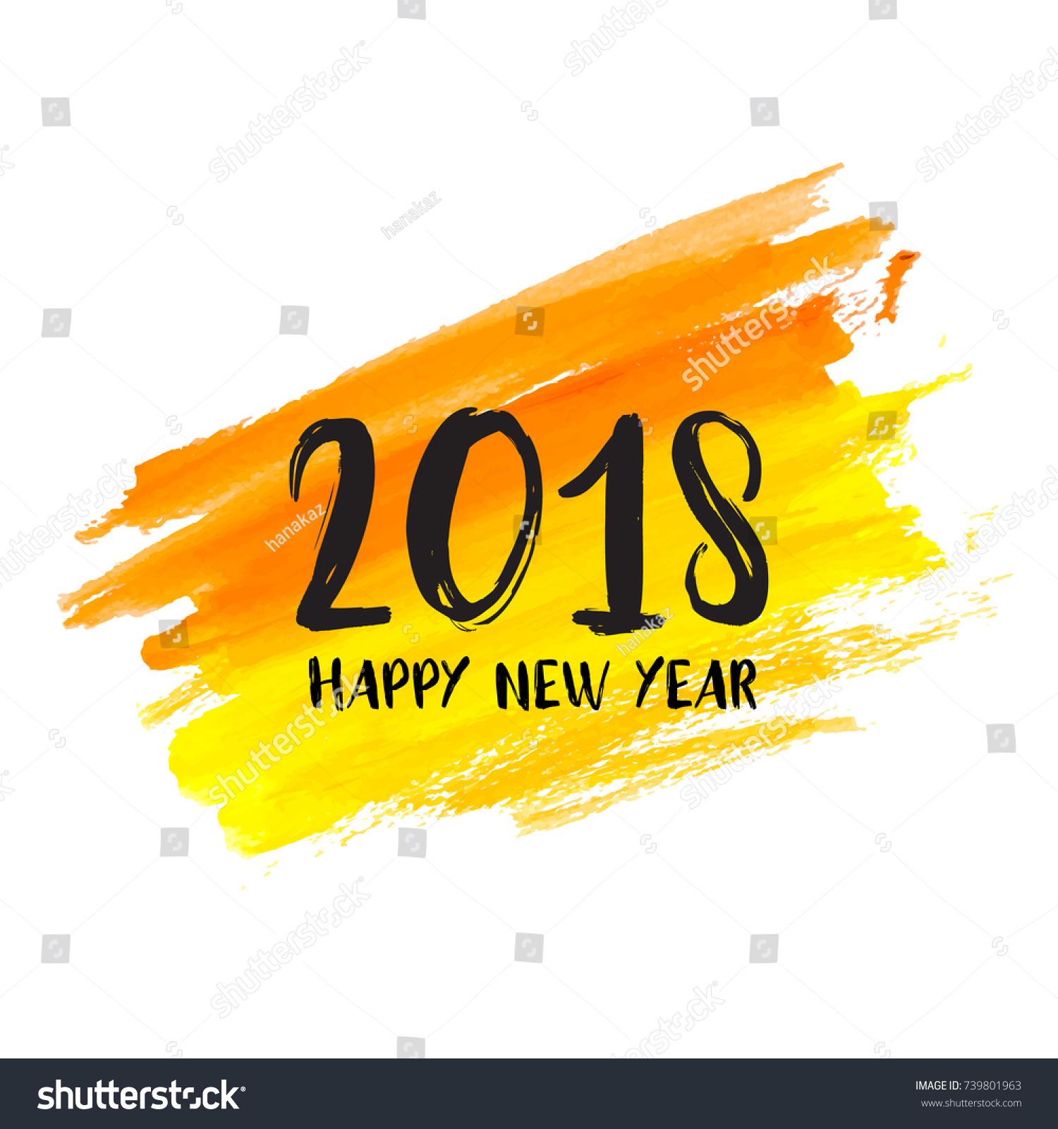 Happy New Year Orange 11