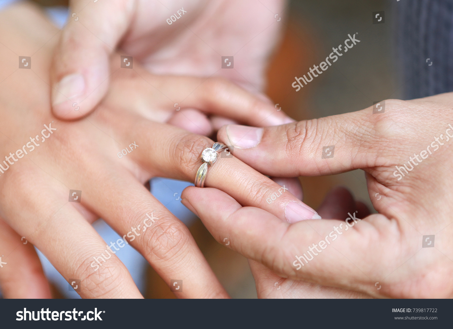 wearing ring, ritual in chinese wedding party | EZ Canvas