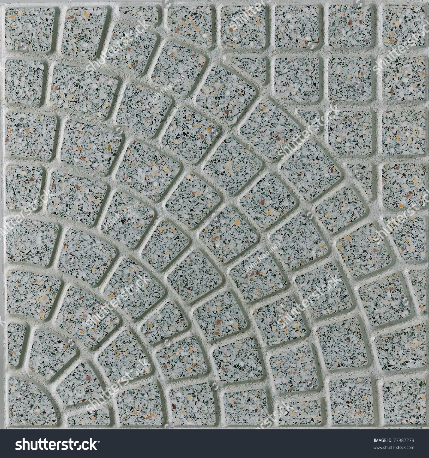 Rough tiles flooring
