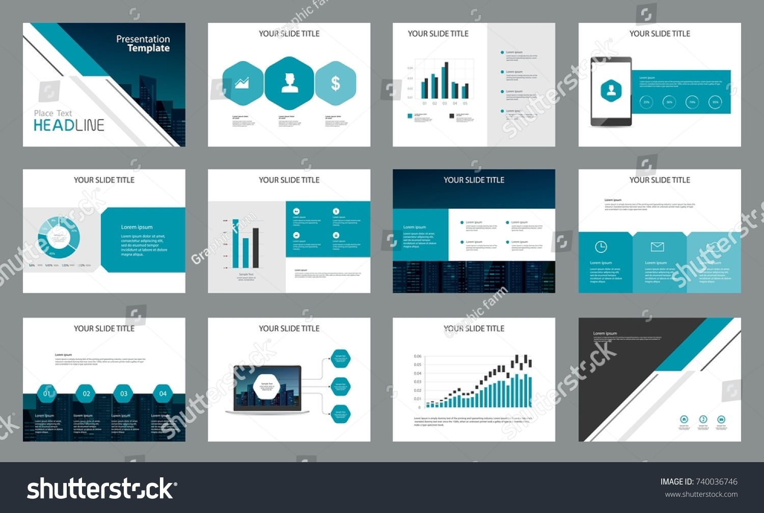 Page design business presentation template report stock vector page design for business presentation template and for report company profile brochure and book accmission