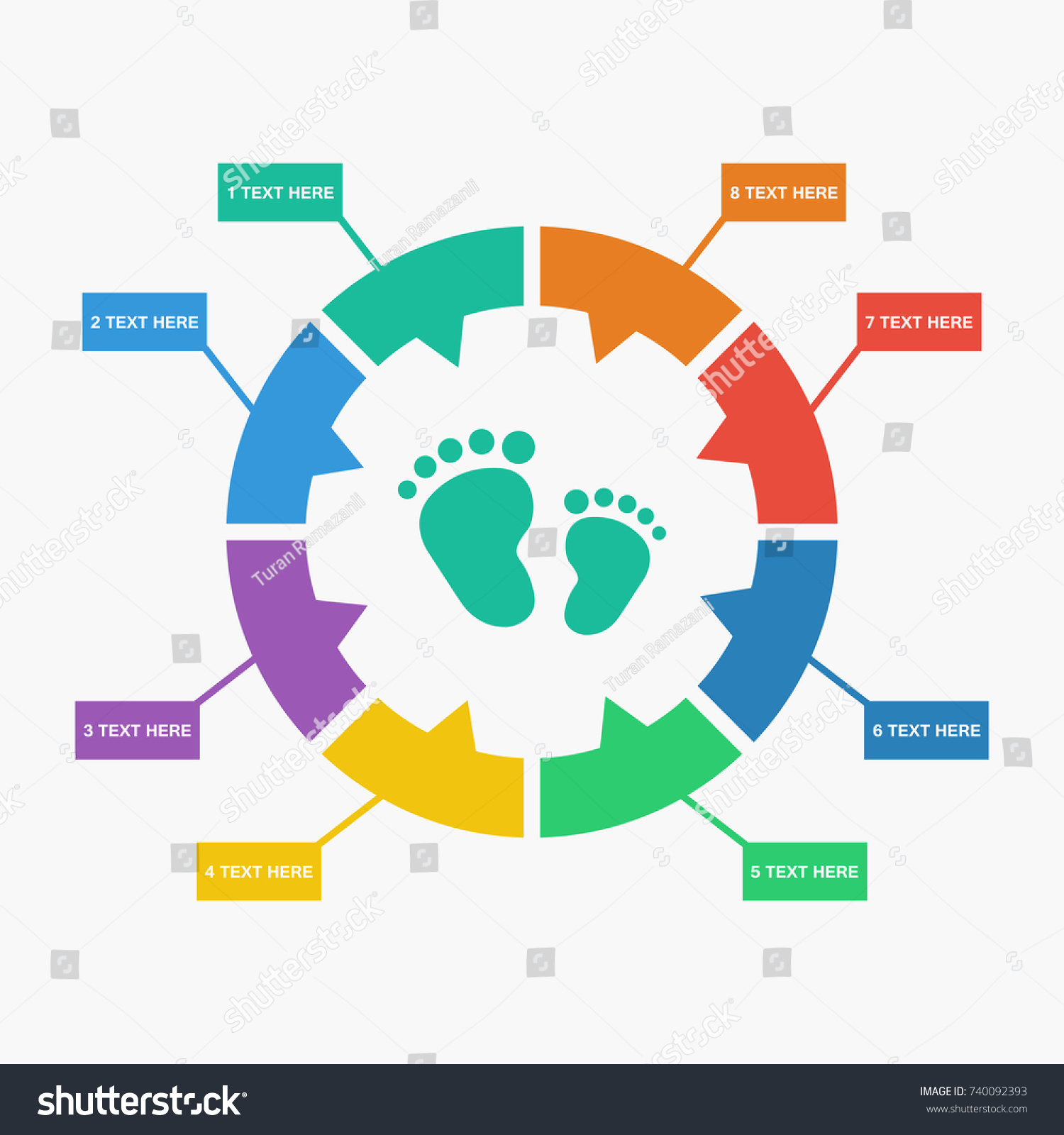 stock vector simple foot icon 740092393 simple foot icon stock vector 740092393 shutterstock