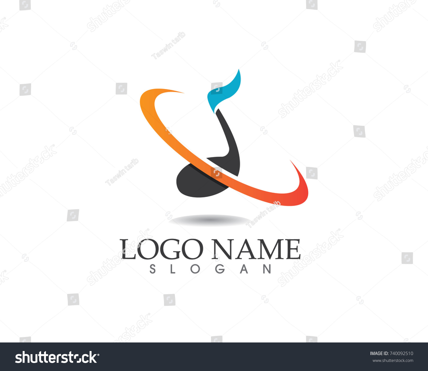 Music Note Symbols Logo Icons Template Stock Vector Royalty Free