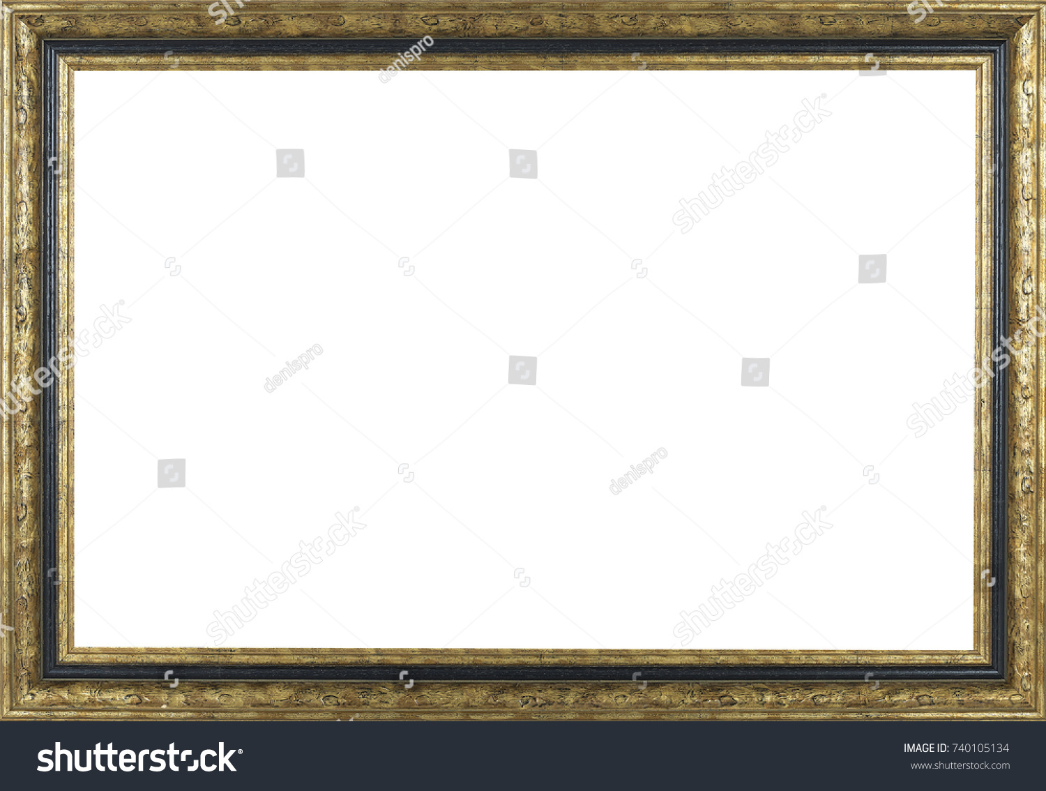 Picture frame isolated on white background stock photo 740105134 picture frame isolated on white background jeuxipadfo Gallery