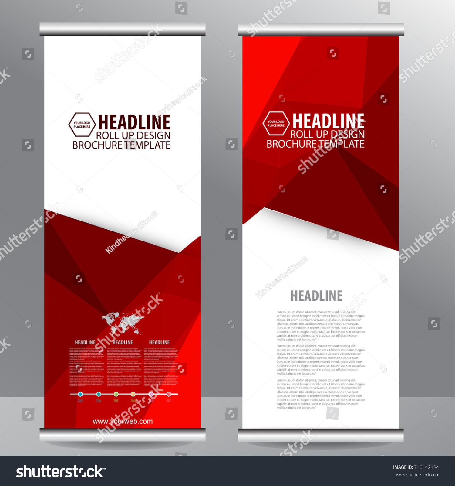 roll business brochure flyer banner design のベクター画像素材