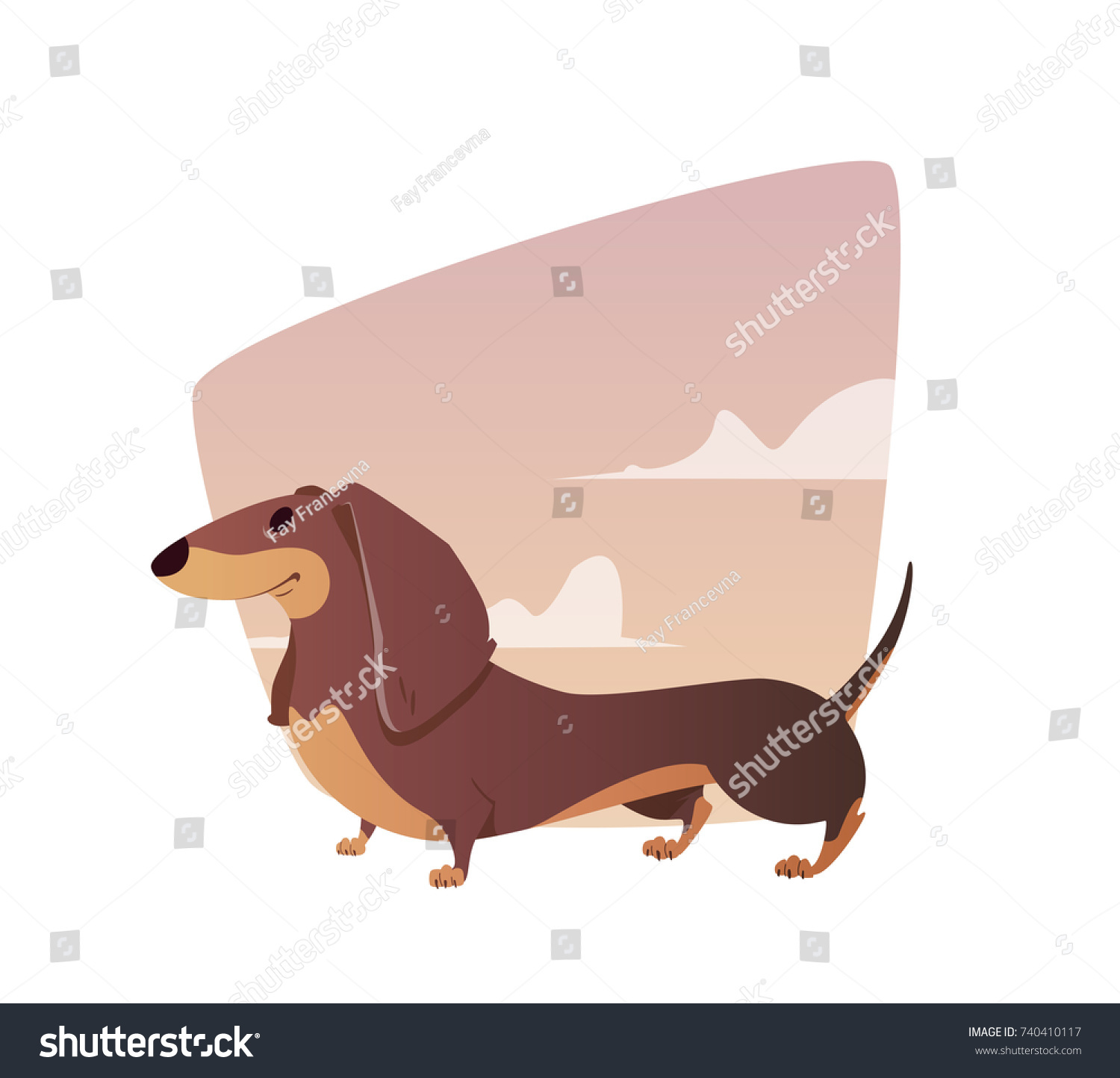 Tax: character, description and photo. Dachshund character - boy and girl 14