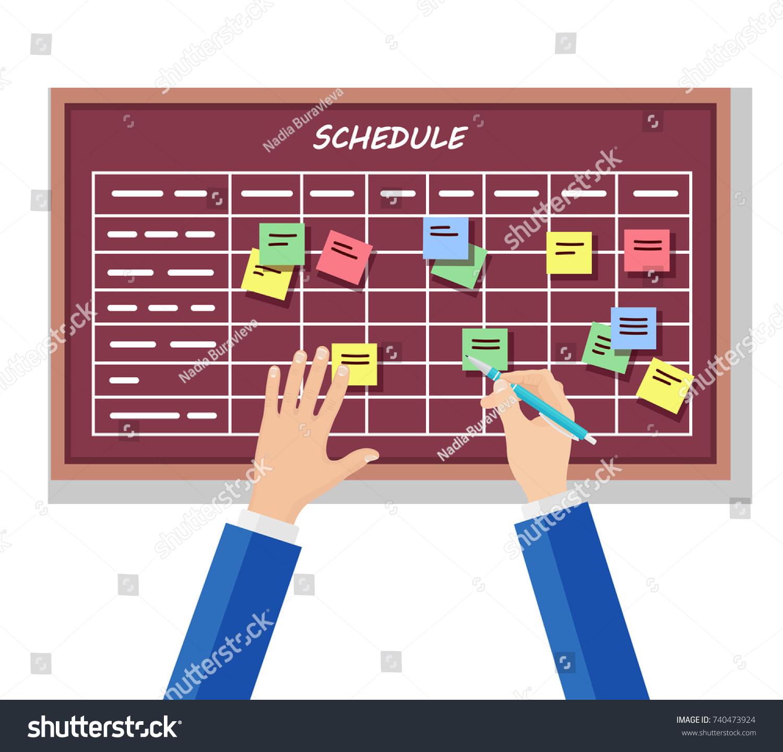 program to make work schedules