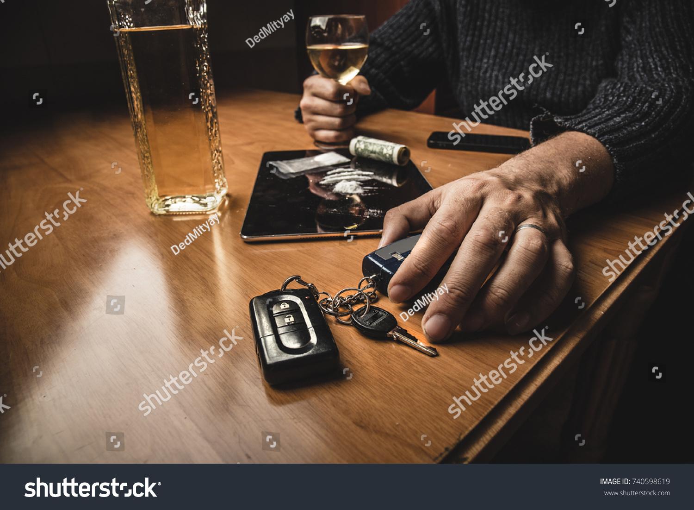 Smoking Whiskey Drinking Cocaine