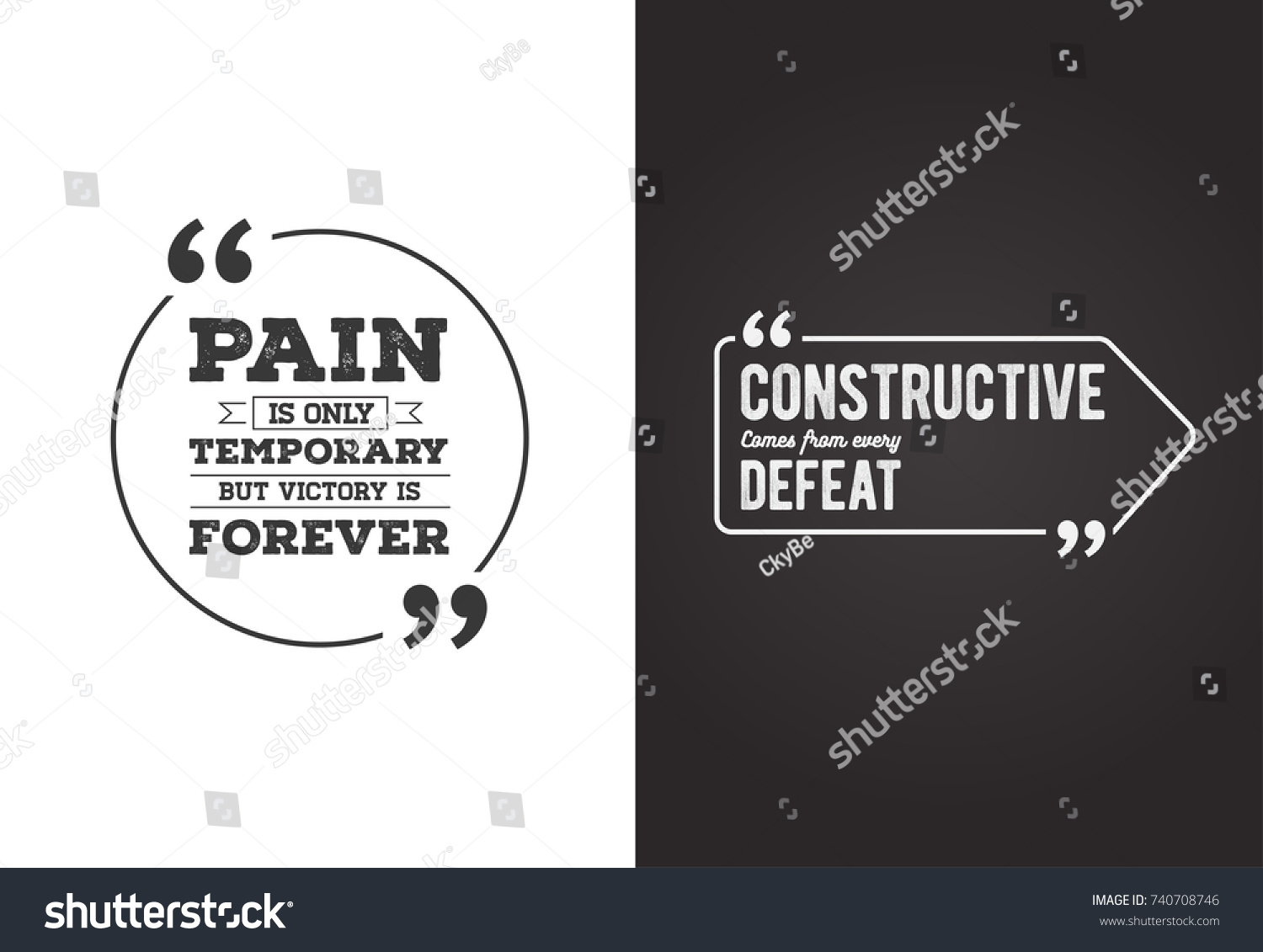 Remark Quote Template Bubble Template Raster Stock Illustration ...