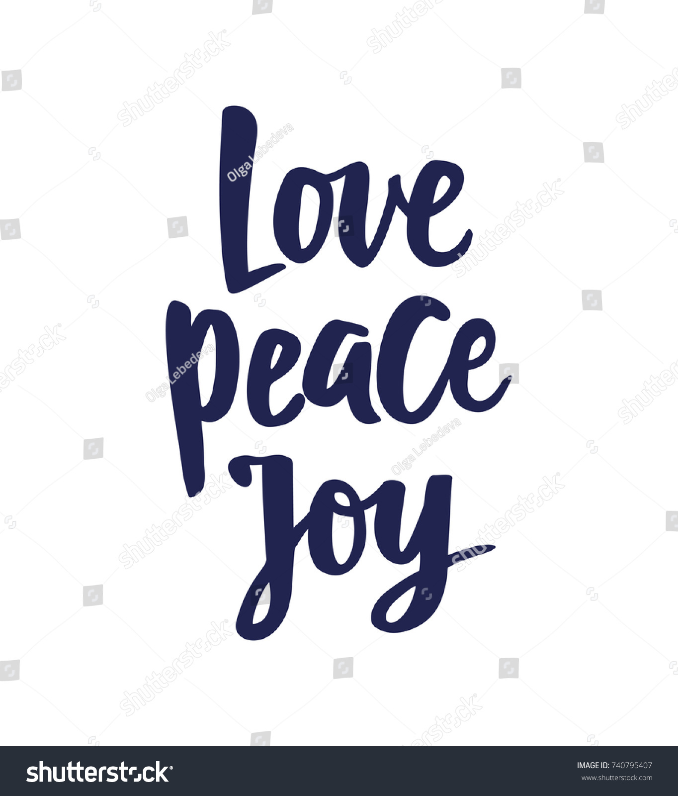 Peace Love Joy Quotes Love Peace Joy Text Hand Drawn Stock Vector 740795407  Shutterstock