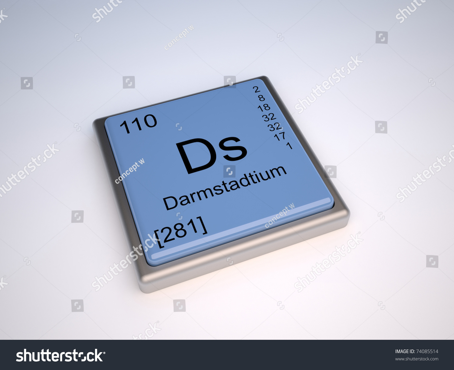 Darmstadtium chemical element periodic table symbol stock darmstadtium chemical element of the periodic table with symbol ds gamestrikefo Choice Image