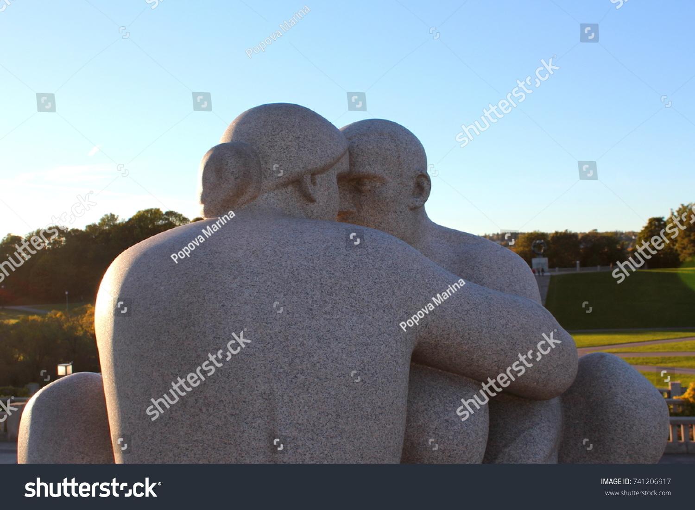 Wonderful man brought the woman to Gelendzhik